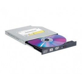 LG DVD R/RW GTC0N, SLIM, INTERNAL, SATA, 8x DL, BLACK, BULK, 2YW.