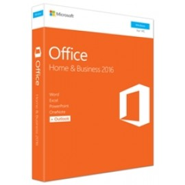 MS OFFICE 2016 HOME + BUSINESS 32-bit/x64 ENG MEDIALESS