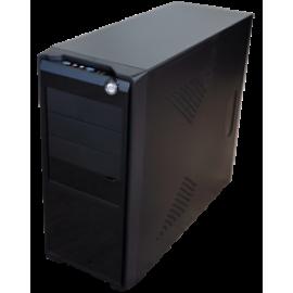 SUPERCASE PC CHASSIS PC 511, W/O PSU, 1x8CM REAR FAN, 2YW.