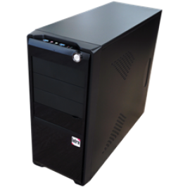 INTRA PC UNLIMITED WORK 8th GEN FREE, INTEL CORE i7 8700, 8GB DDR4 2666MHz, INTEL HD GRAPHICS, 1TB, DVD R/RW, LAN GB, MIDI TOWER, 550W PSU, NO_OS, 3YW.