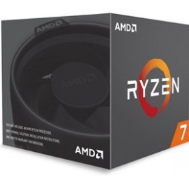 AMD CPU RYZEN 7 2700, 8C/16T, 3.2-4.1GHz, CACHE 4MB L2+16MB L3, SOCKET AM4, BOX, 3YW.