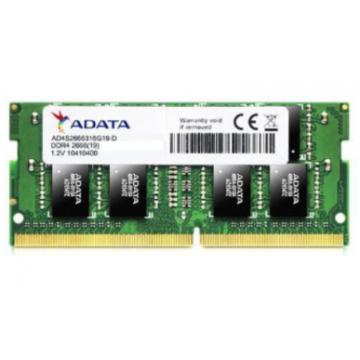 ADATA RAM SODIMM 8GB AD4S266638G19-R, DDR4, 2666MHz, CL19, RETAIL, LTW