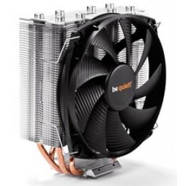 BEQUIET CPU COOLER SHADOW ROCK SLIM BK010, 160W TDP, INTEL LGA 775/115X/1366/2011(-3) SQUARE ILM/2066, AMD AM2(+)/AM3(+)/AM4/FM1/FM2(+), 3YW.
