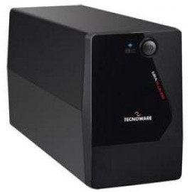 TECNOWARE UPS ERA PLUS 1100, 1100VA/770W, LINE INTERACTIVE W/ STABILIZER, SIMULATED SINEWAVE, 2YW ELECTRONIC PARTS & BATTERIES.