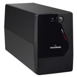 TECNOWARE UPS ERA PLUS 900, 900VA/630W, LINE INTERACTIVE W/ STABILIZER, SIMULATED SINEWAVE, 2YW ELECTRONIC PARTS & BATTERIES.