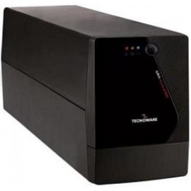 TECNOWARE UPS ERA PLUS 1500, 1500VA/1050W, LINE INTERACTIVE W/ STABILIZER, SIMULATED SINEWAVE, 2YW ELECTRONIC PARTS & BATTERIES.