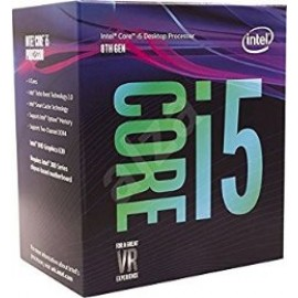 INTEL CPU CORE i5 8500, 6C/6T, 3.00GHz, CACHE 9MB, SOCKET LGA1151 8th GEN, GPU, BOX, 3YW.