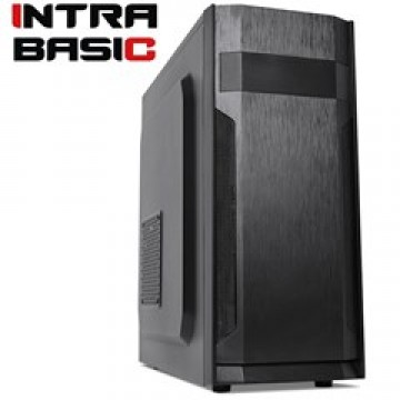 INTRA PC BASIC FREE, INTEL CELERON J4105, 4GB DDR4 2400MHz, INTEL HD GRAPHICS, 240GB SSD, DVD R/RW, LAN GB, MIDI TOWER, 500W PSU, NO_OS, 3YW.