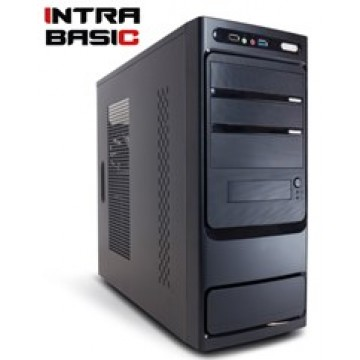 INTRA PC BASIC FREE, INTEL CELERON J1900, 4GB DDR3 1333MHz, INTEL HD GRAPHICS, 500GB, DVD R/RW, LAN GB, MIDI TOWER, 500W PSU, NO_OS, 3YW.