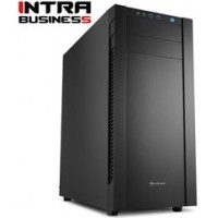 INTRA PC UNLIMITED WORK 8th GEN FREE, INTEL CORE i7 8700, 8GB DDR4 2400MHz, INTEL HD GRAPHICS, 1TB HDD, 120GB SSD, DVD R/RW, LAN GB, MIDI TOWER, 500W PSU, NO_OS, 3YW.