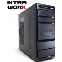 INTRA PC WORK FREE, INTEL PENTIUM G5400, 4GB DDR4 2400MHz, INTEL HD GRAPHICS, 1TB HDD, DVD R/RW, LAN GB, MIDI TOWER, 500W PSU, NO_OS, 3YW.
