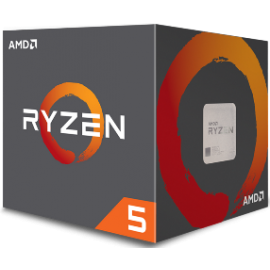 AMD CPU RYZEN 5 1600, 6C/12T, 3.2-3.6GHz, CACHE 3MB L2+16MB L3, SOCKET AM4, BOX, 3YW.
