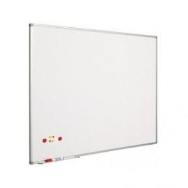 Ασπροπίνακας SMIT-VISUAL μαρκαδόρου, Σμάλτου - Μαγνητικός με πλαίσιο αλουμινίου (coated steel) - 120x180 cm