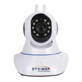CT-VISON CT-P724 PRO + Δώρο Lan Καλώδιο Wireless 720P H.264 Wifi IP - Κάμερα με νυχτερινή λήψη - Χρώμα λευκό ctvison