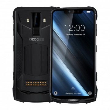 Doogee S90 Full Pack, 6,18'' FHD+P60 OctaCore, Dual Rear Camera, Black