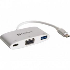 Sandberg USB-C Mini Dock VGAUSB (136-01)