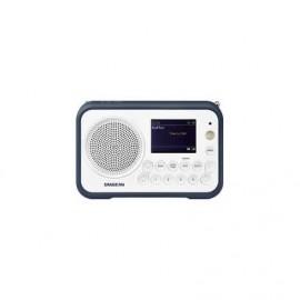 Sangean DPR-76 Φορητό Ραδιόφωνο - White / Stone Blue