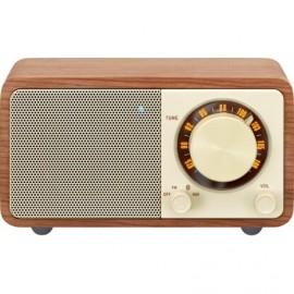 Sangean WR-7 Walnut - Ραδιόφωνο Bluetooth με ξύλινη καμπίνα