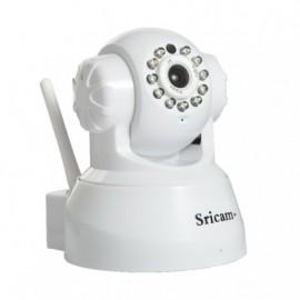 Sricam SP012 PLUS WH - IP Camera - Ανάλυση 720p - ONVIF - WIFI - Νυχτερινή όραση/λήψη - microSD + Δώρο καλώδιο LAN