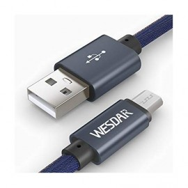 Wesdar T8 Charging & Data Cable - Μαύρο