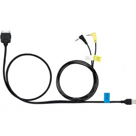 Kenwood KCA-iP302 iPod/iPhone direct cable for music & video playback