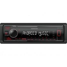 Kenwood KMM-105RY Digital Media Receiver with Front USB & AUX Input.