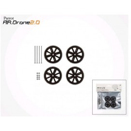 Gears and Shafts for AR.Drone 2.0