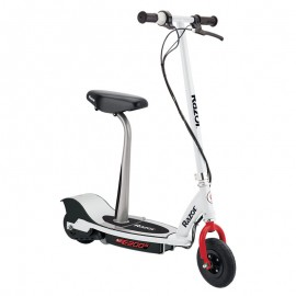 Razor E200S Electric Scooter Seated - 13173858