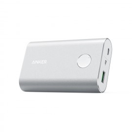 Anker Powercore 10050 Qualcomm Power Bank Silver- A1311H41