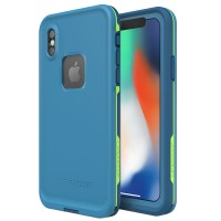 Lifeproof FRĒ for iPhone X Blue - 77-57167