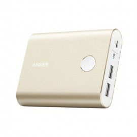Anker 13400mAh PowerCore+ Portable Power Bank with Quick Charge 3.0 Gold - A1316HB1