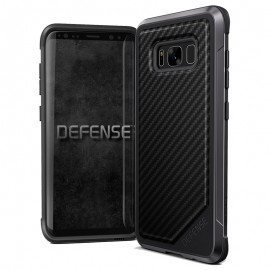 X-Doria Defense Lux for Galaxy S8 Black Carbon Fiber - 456586