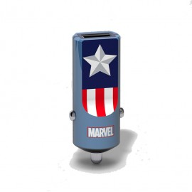 Tribe Captain America Car Charger Buddy - CCR11601
