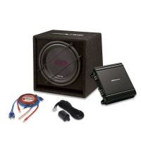 """Alpine SBG-30KIT """"All-in-one-box"""" Bass Upgrade Kit for Awesome Levels of Deep, Resonant Bass"""