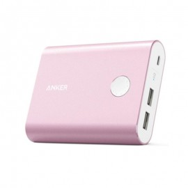 Anker 13400mAh PowerCore+ Portable Power Bank with Quick Charge 3.0 Pink - A1316H51