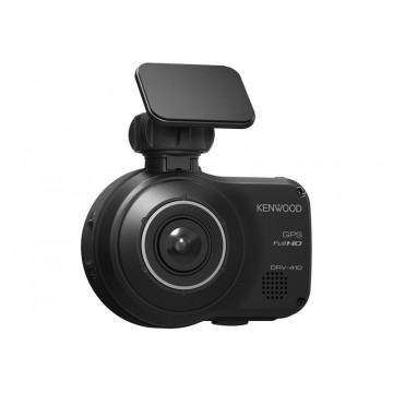Kenwood DRV-410 GPS Integrated Dashboard Camera with Advanced Driver Assistance Systems Built-in