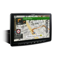 Alpine INE-F904D 1DIN Chassis – 9-inch Touch Screen, built-in Navigation