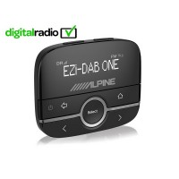 Alpine EZi-DAB-ONE Digital Radio (DAB/DAB+) Interface with music via aux-in