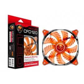 CC-COUGAR  Case Cooling Fan  12 Red Led