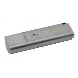 KINGSTON USB Stick Data Traveler Locker+G3 DTLPG3/16GB, USB 3.0, Silver