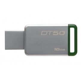 KINGSTON USB Stick Data Traveler 50, DT50/16GB, USB 3.1, Silver/Green