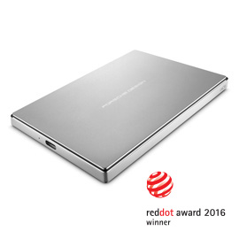 LACIE HDD EXT. 2TB, 2.5, P9223, 3.0, TYPE C, SILVER