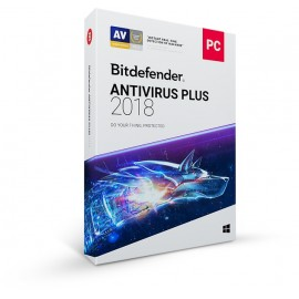 BITDEFENDER ANTIVIRUS PLUS 2018 1 PC 1 Mobile Security 1 Year