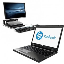 HP Probook 6470B i5-3210M/4GB/320GB/DVD + HP Prodisplay P201 20″ + Βάση ειδική με Docking Station *Grade B*